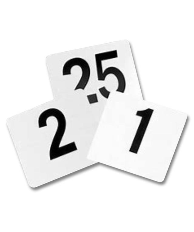 Where to find TABLE NUMBERS 1-25 SET in Denver