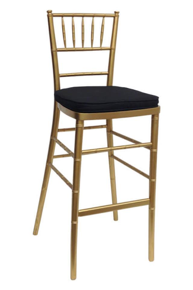 Where to find GOLD CHIAVARI BAR STOOL in Denver