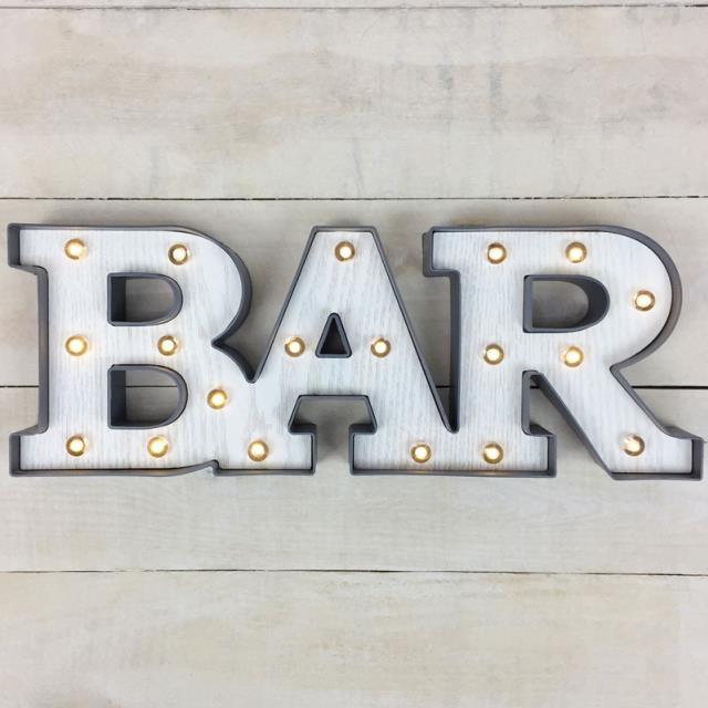 Where to find BAR SIGN WITH LIGHTS in Denver