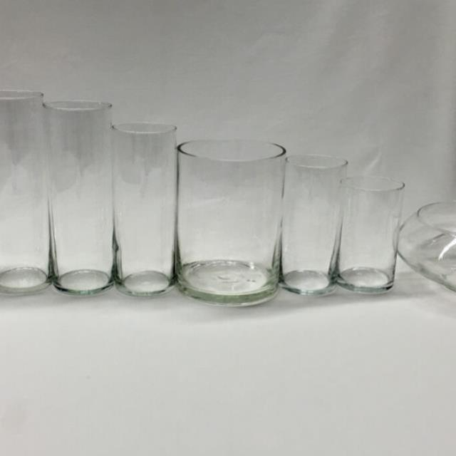 Cylinder Vase 9 Inch Tall X35 Inch Wide Rentals Denver Co Where