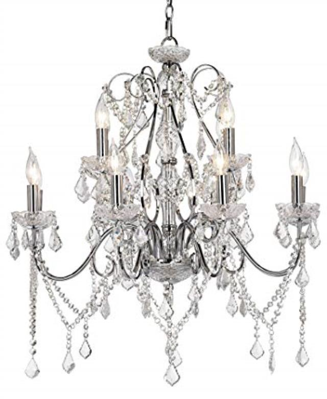 Where to find GRAND VIENNA CRYSTAL CHANDELIER  12 BULB in Denver