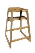 Rental store for HIGHCHAIR - WOODEN NO TRAY in Denver CO