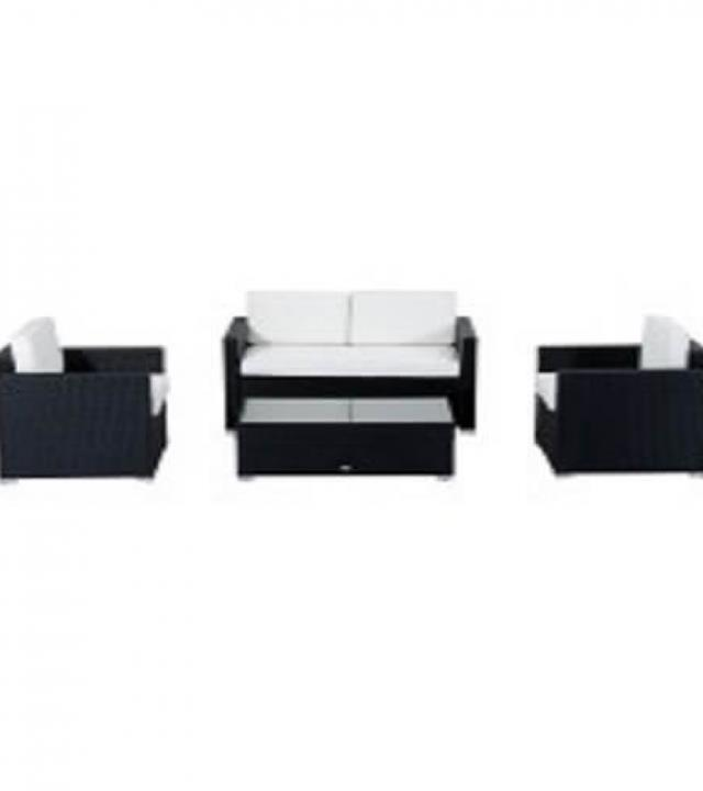Where to find LOUNGE BLACK RATTAN SET in Denver
