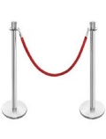 Rental store for STANCHION ROPE RED 8 in Denver CO