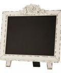 Rental store for CHALKBOARD WHITE ORNATE TABLETOP in Denver CO