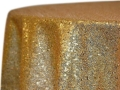 Rental store for GOLD SEQUIN LINEN in Denver CO