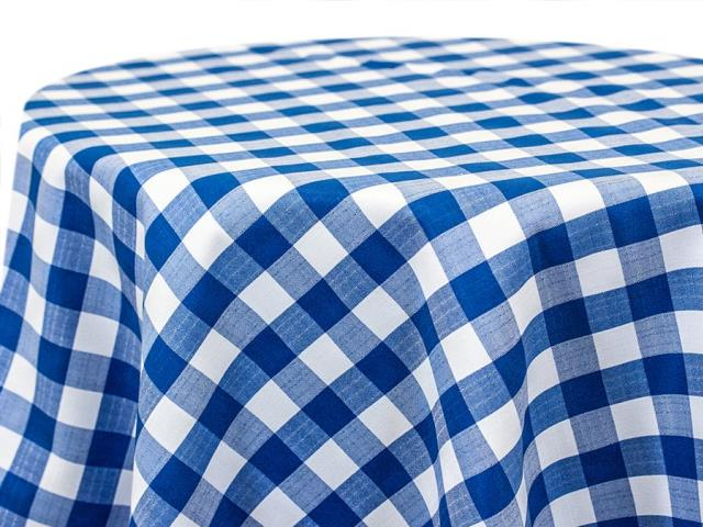 Where to find BLUE   WHITE CHECKERED LINEN in Denver