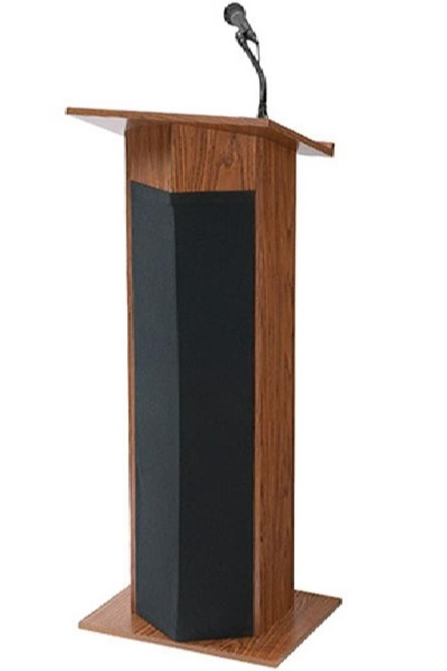 Where to find OAK PODIUM WITH SOUND in Denver