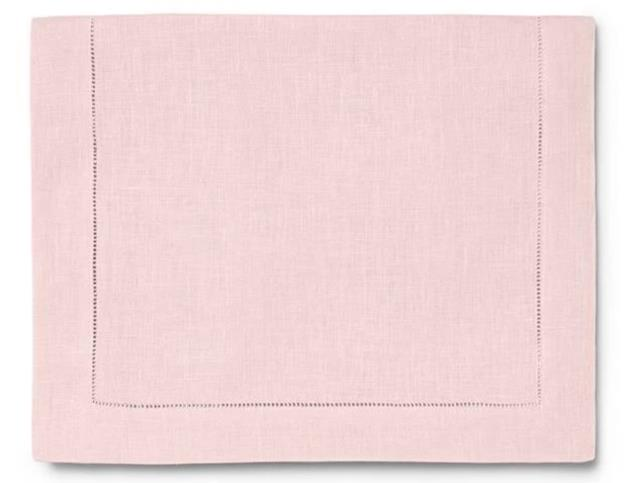 Where to find PALE PINK HEMSTITCH LINEN in Denver
