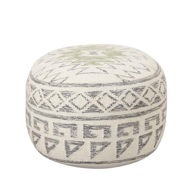 Where to find WOOL KILIM POUF in Denver