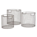 Rental store for WIRE ROUND BASKETS  SET OF 3 in Denver CO