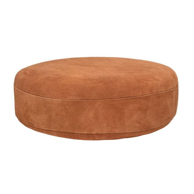 Where to find RUST SUEDE POUF in Denver