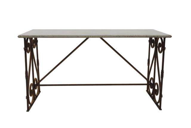 Where to find METAL SCROLL SWEETHEART TABLE in Denver