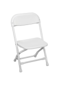Rental store for CHILDRENS FOLDING CHAIR WHITE in Denver CO