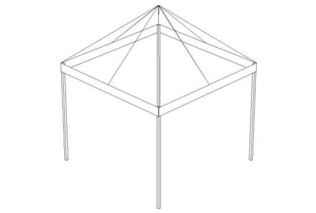 Where to find 10  X 10  WHITE FRAME TENT in Denver